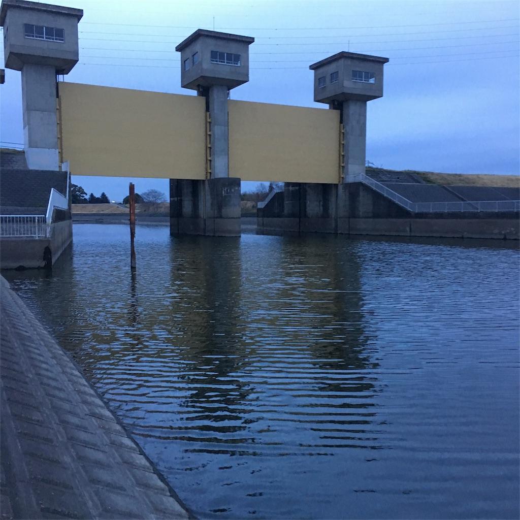 牛久沼排水機場
